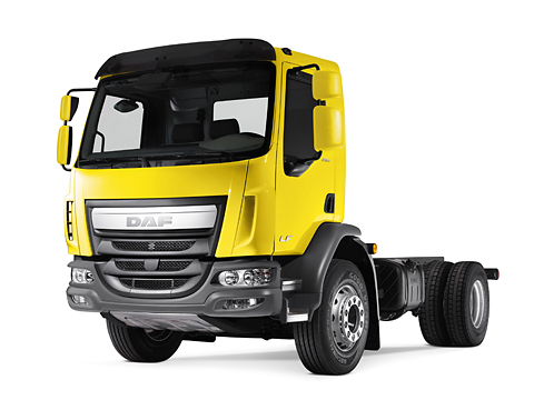 DAF LF Construction — Внешний дизайн